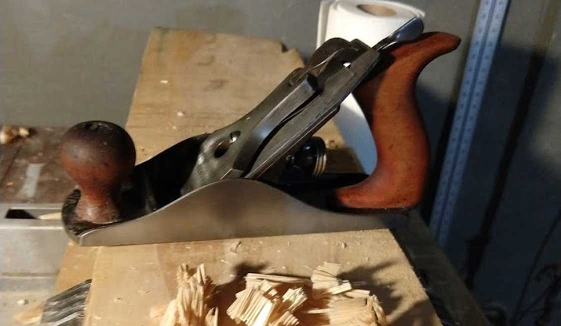 Image of a restored hand plane