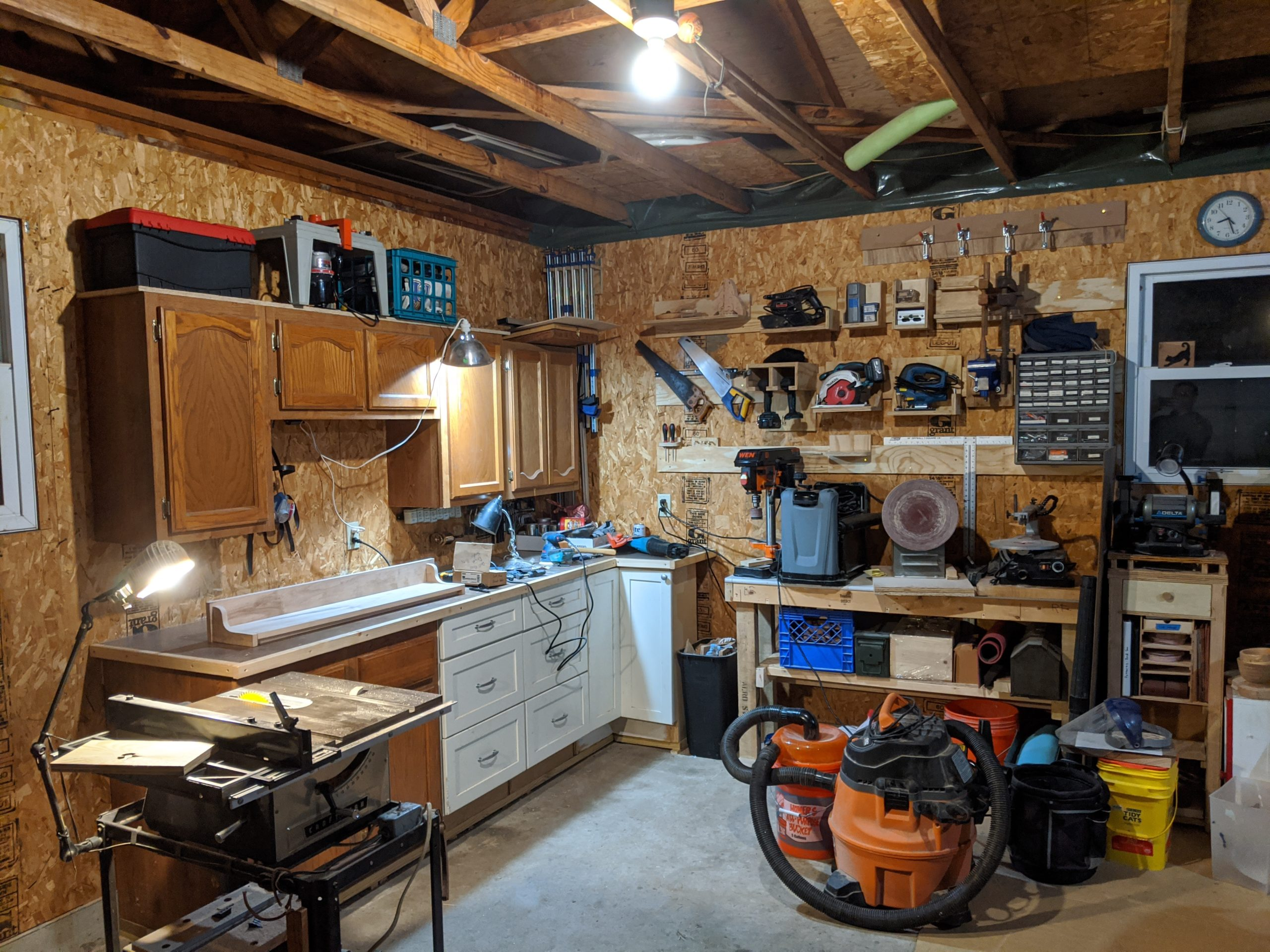 A new woodworking space